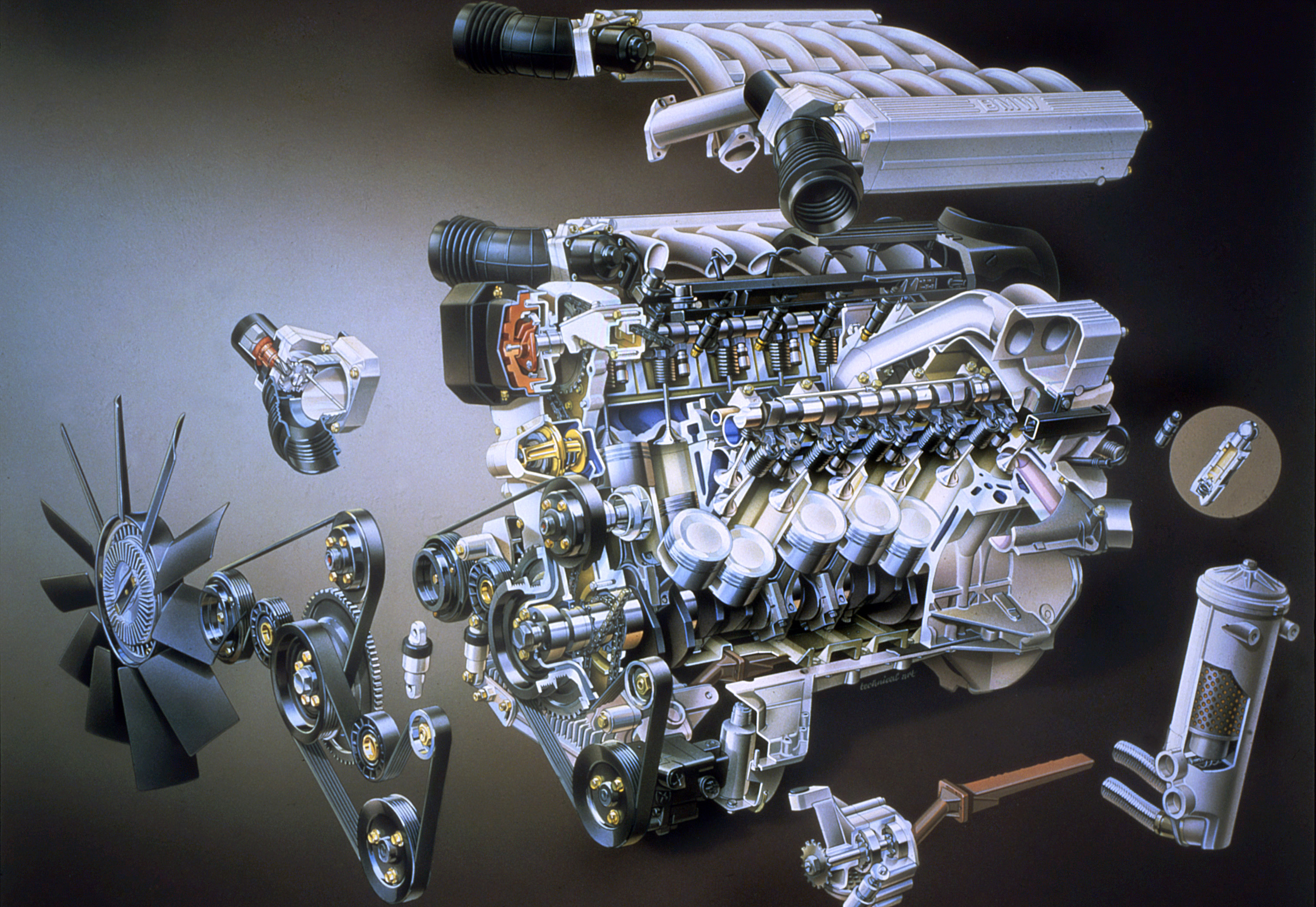 BMW M70 Engine