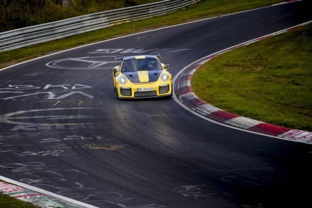 Porsche 911 GT2 RS record Nürburgring