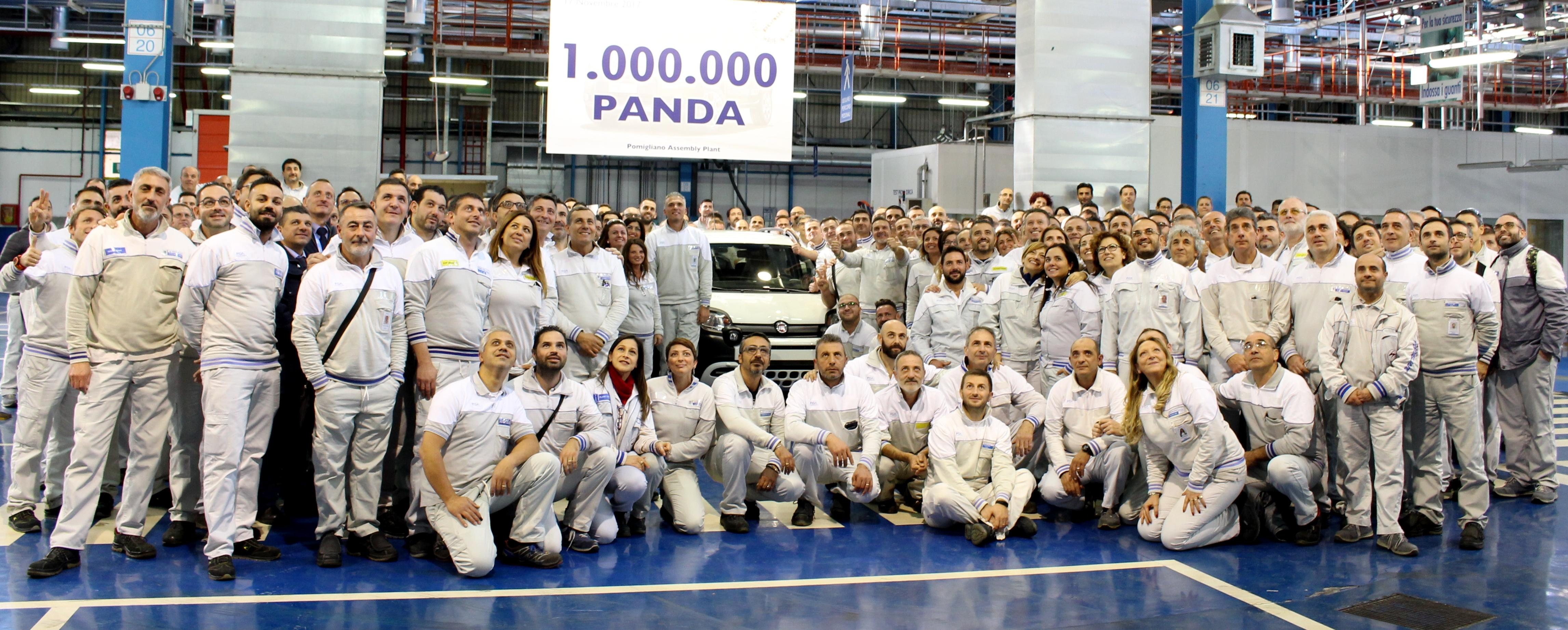 FIAT Panda: un milione di esemplari
