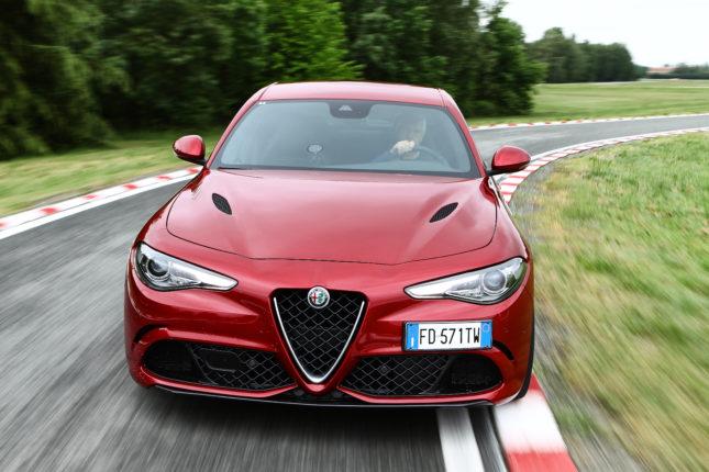 Alfa-Romeo Giulia Quadrifoglio