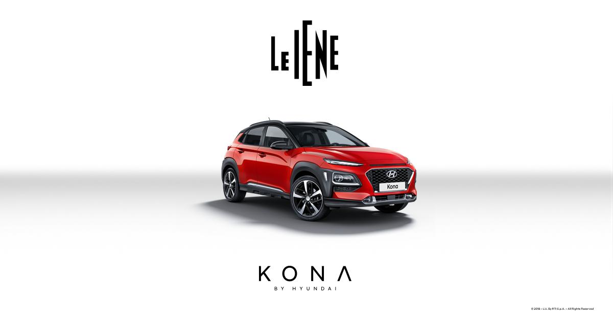 Hyundai Kona Auto Ufficiale LE IENE 2018