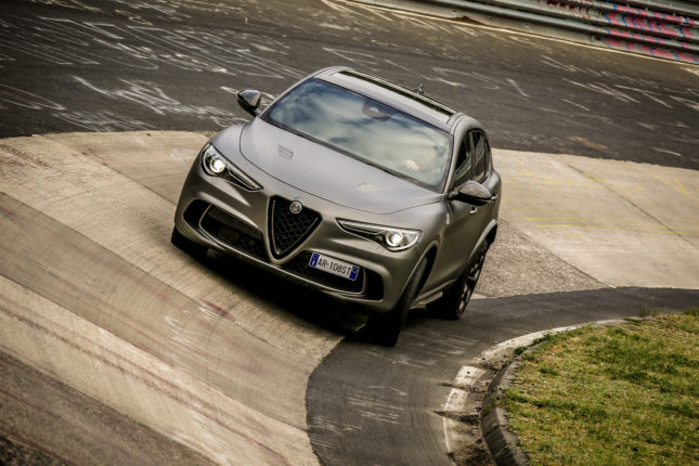 Alfa-Romeo Stelvio Quadrifoglio NRING