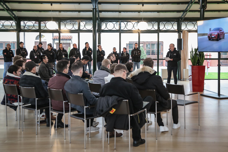 Alfa Romeo Stelvio e Giulia Quadrifoglio Workshop