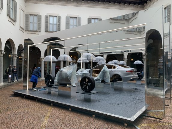 Jaguar alla Design Week