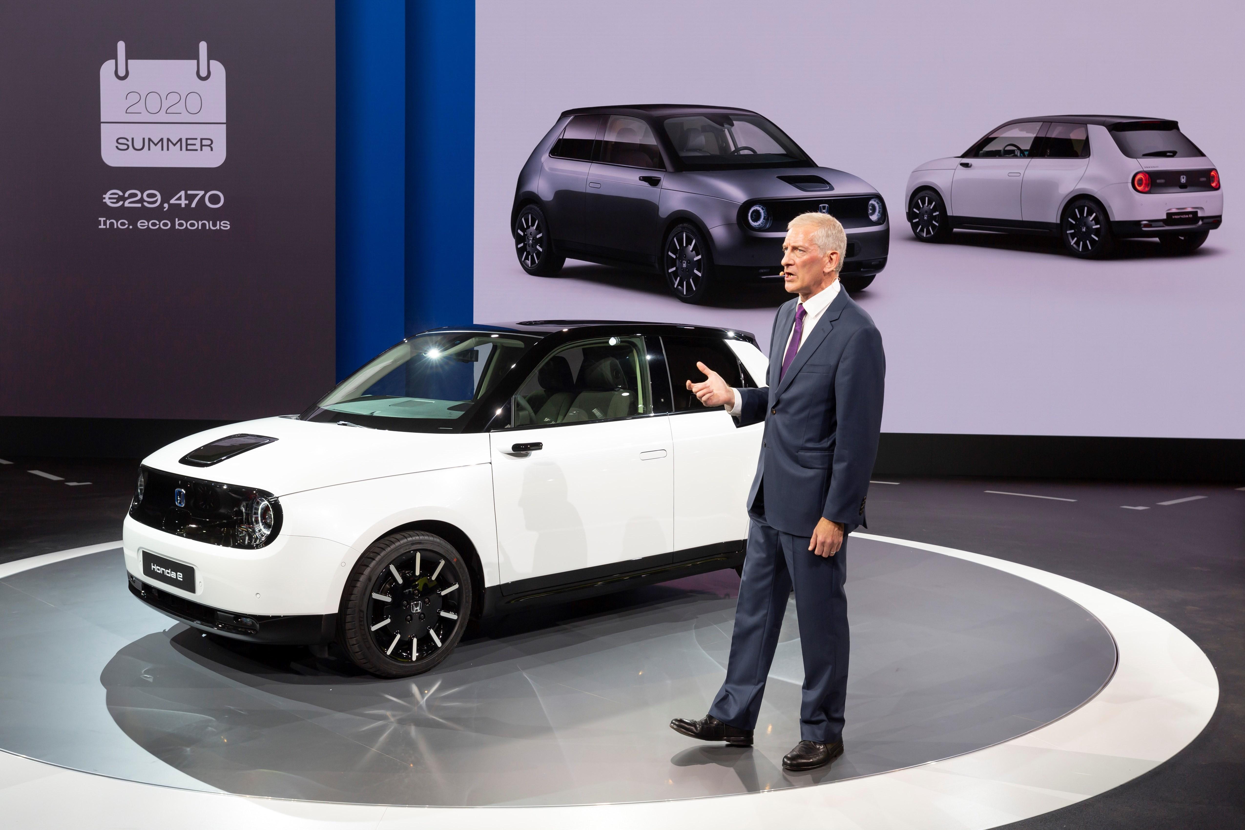 Honda e IAA Francoforte 2019