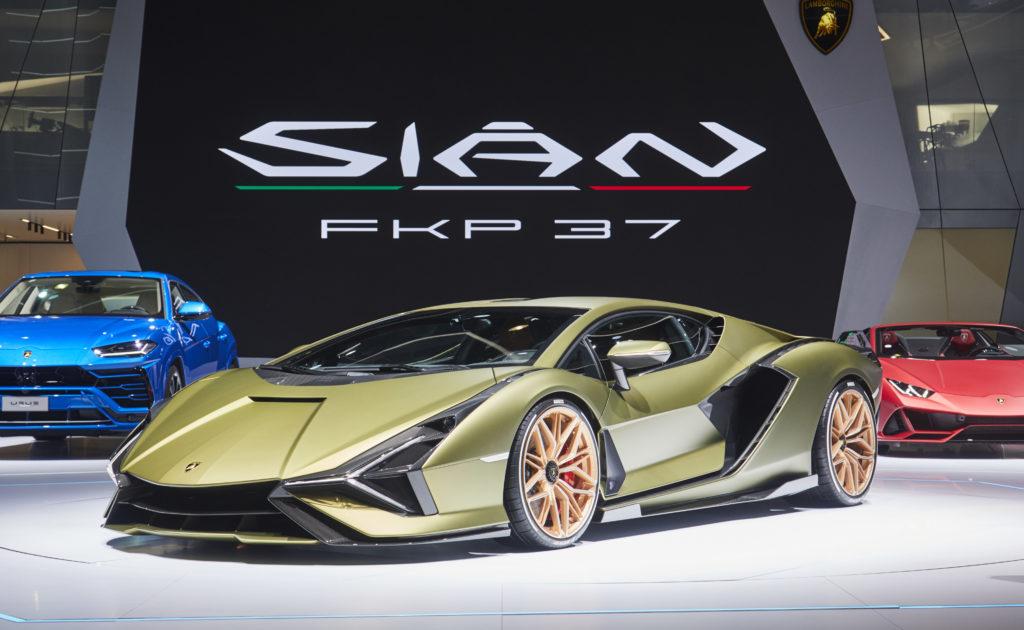 Lamborghini Sian IAA Francoforte 2019