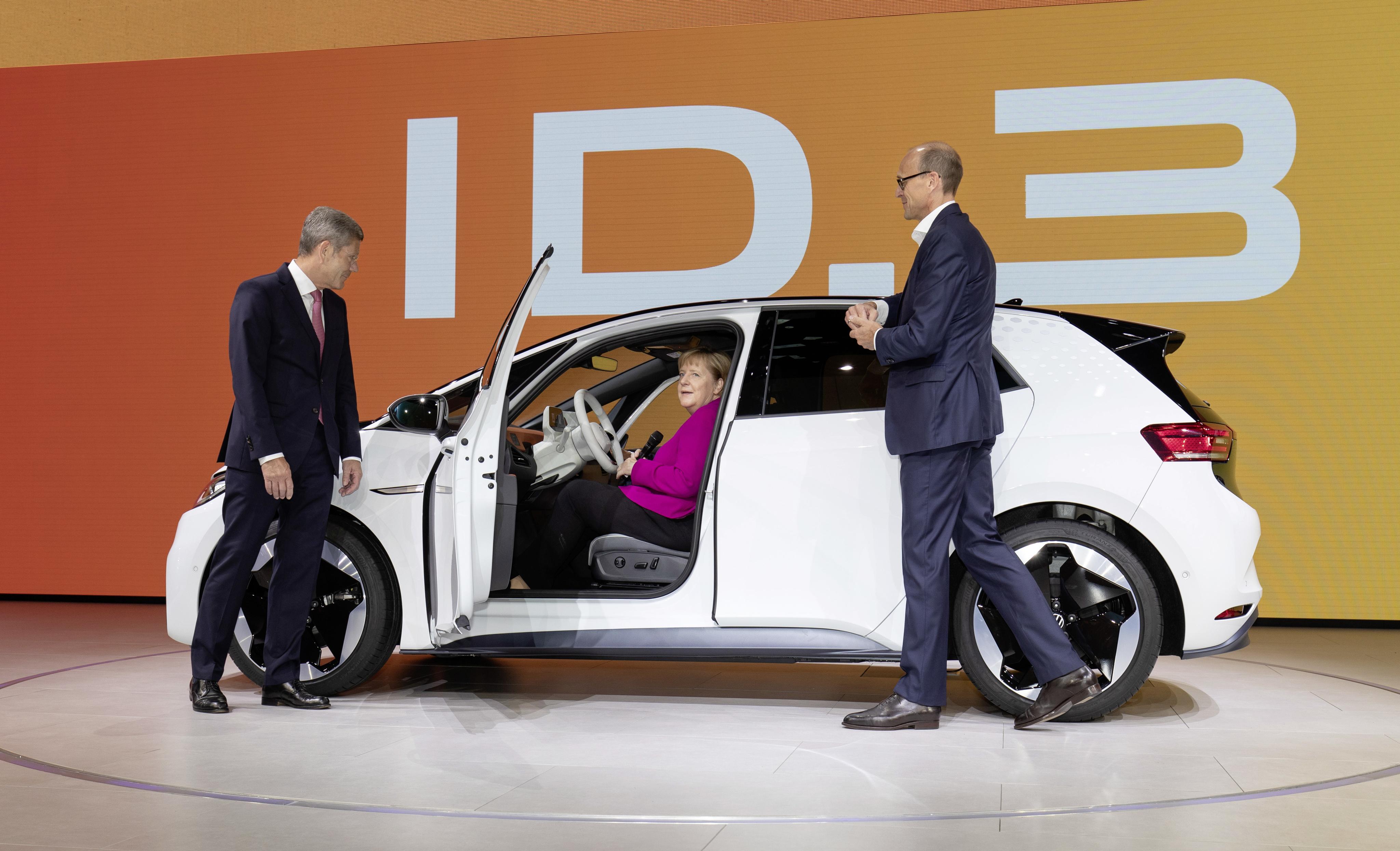 Volkswagen ID.3 IAA Francoforte 2019