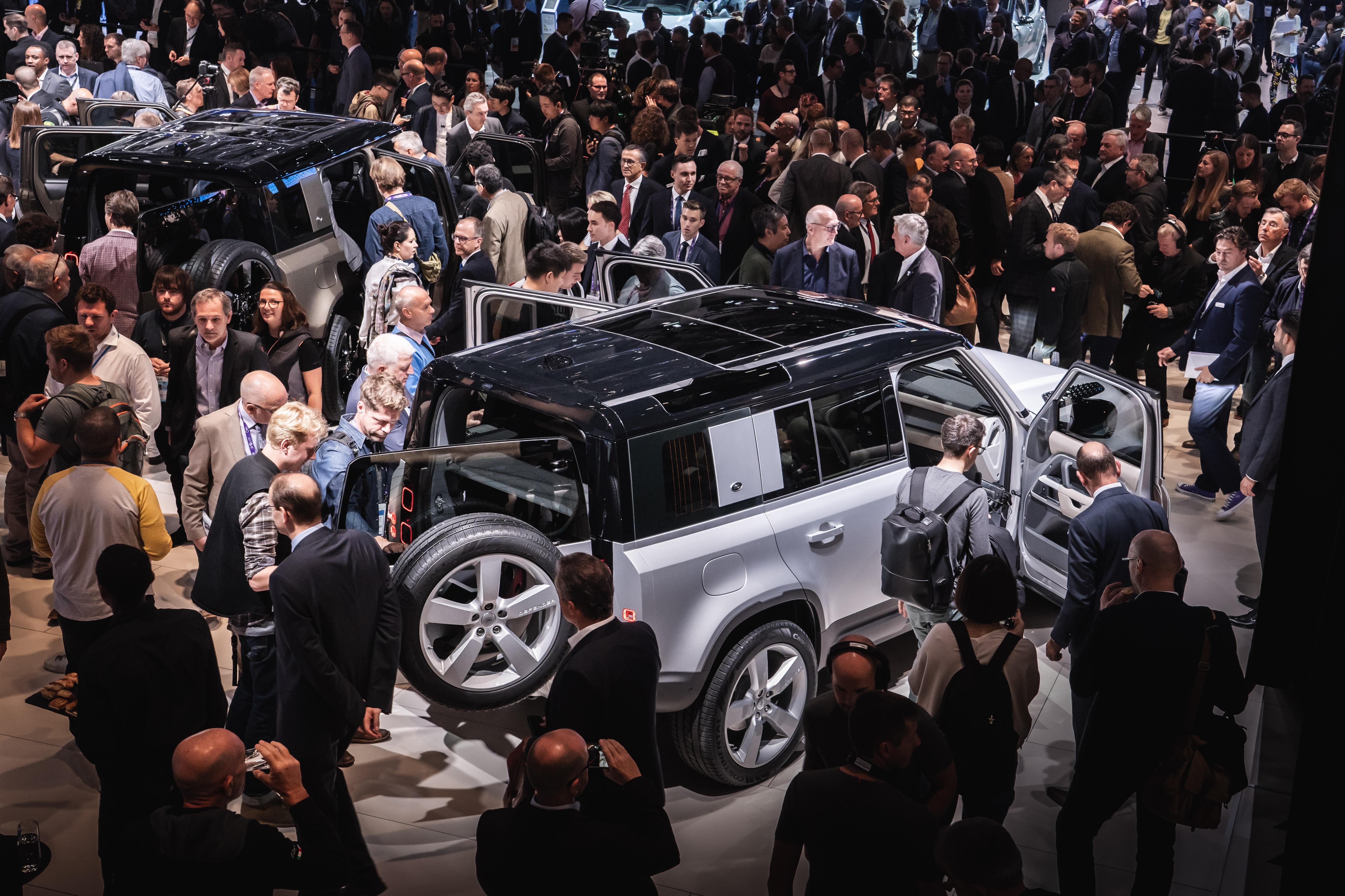 Land Rover Defender IAA Francoforte 2019