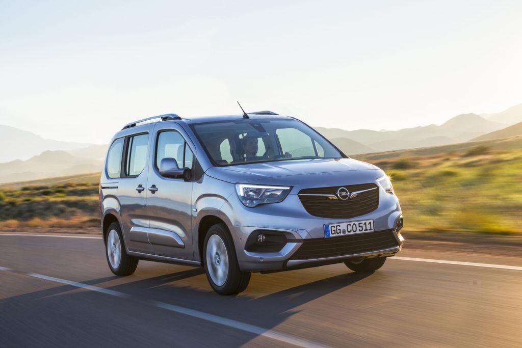 Opel Combo Life 1.5 CDTI 100 cavalli: frontale