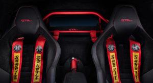Alfa Romeo Giulia GTam: interno