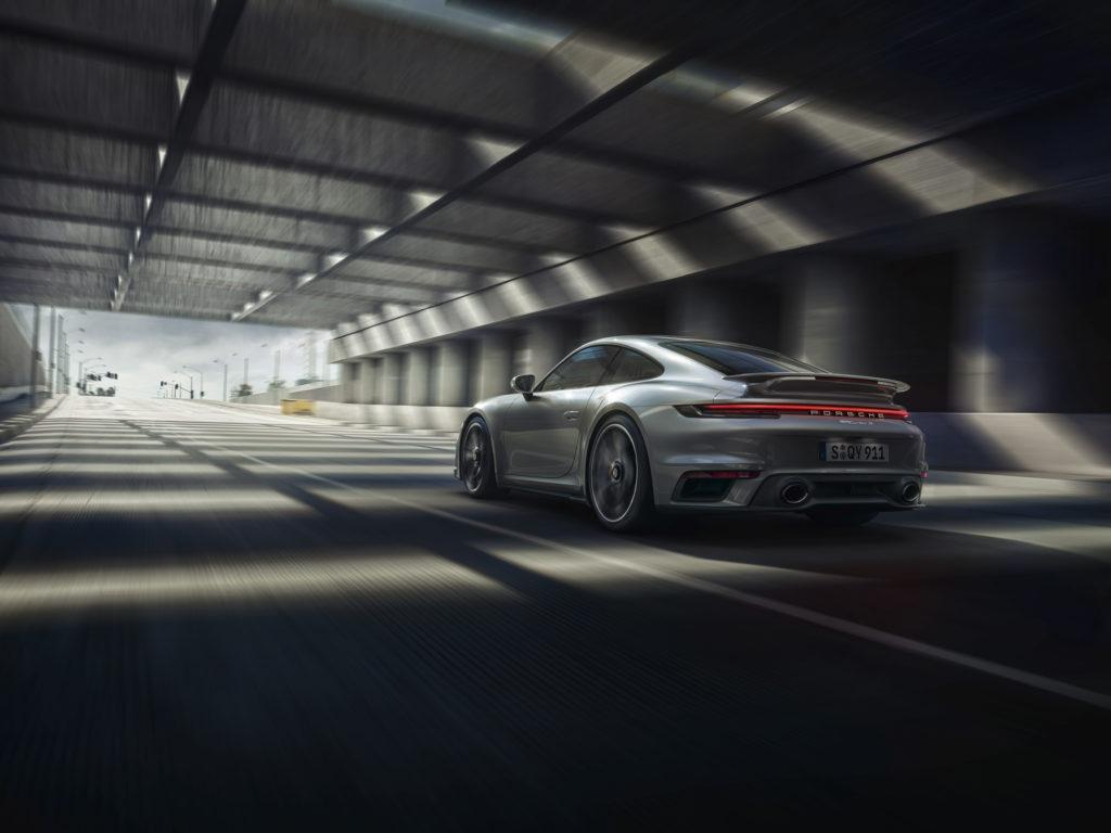 Porsche 911 Turbo S: posteriore