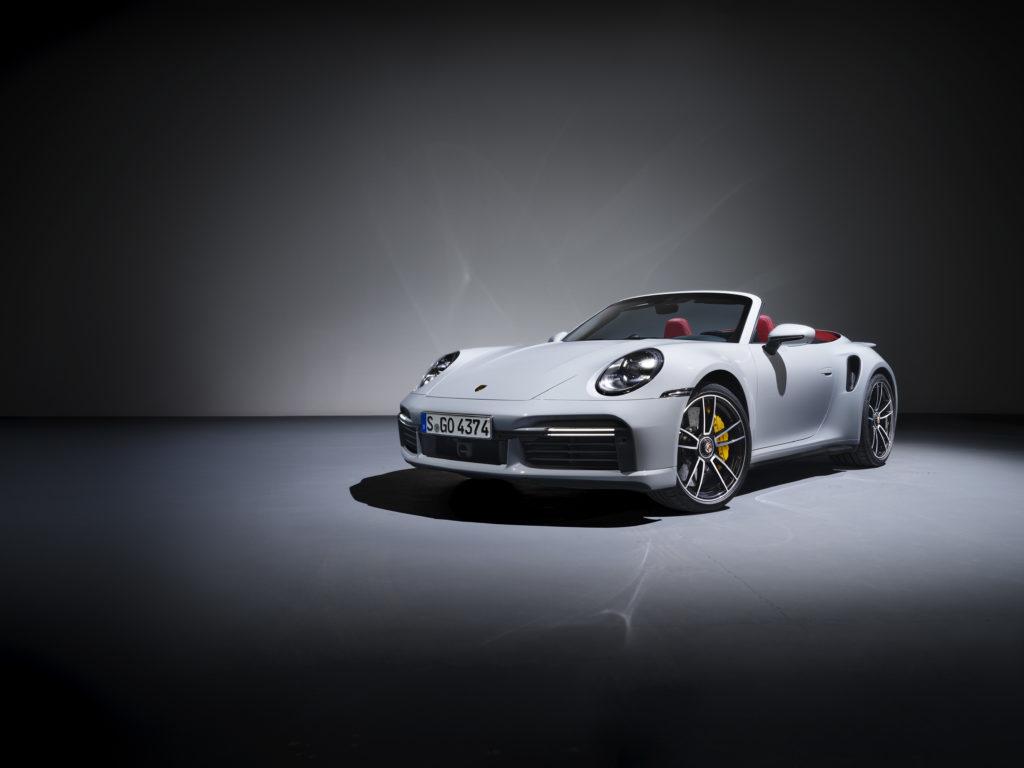 Porsche 911 Turbo S: cabriolet