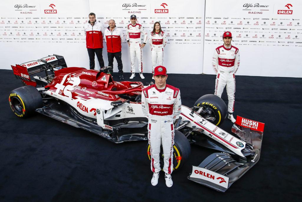 Alfa Romeo F1 Team 2020 - Giovinazzi