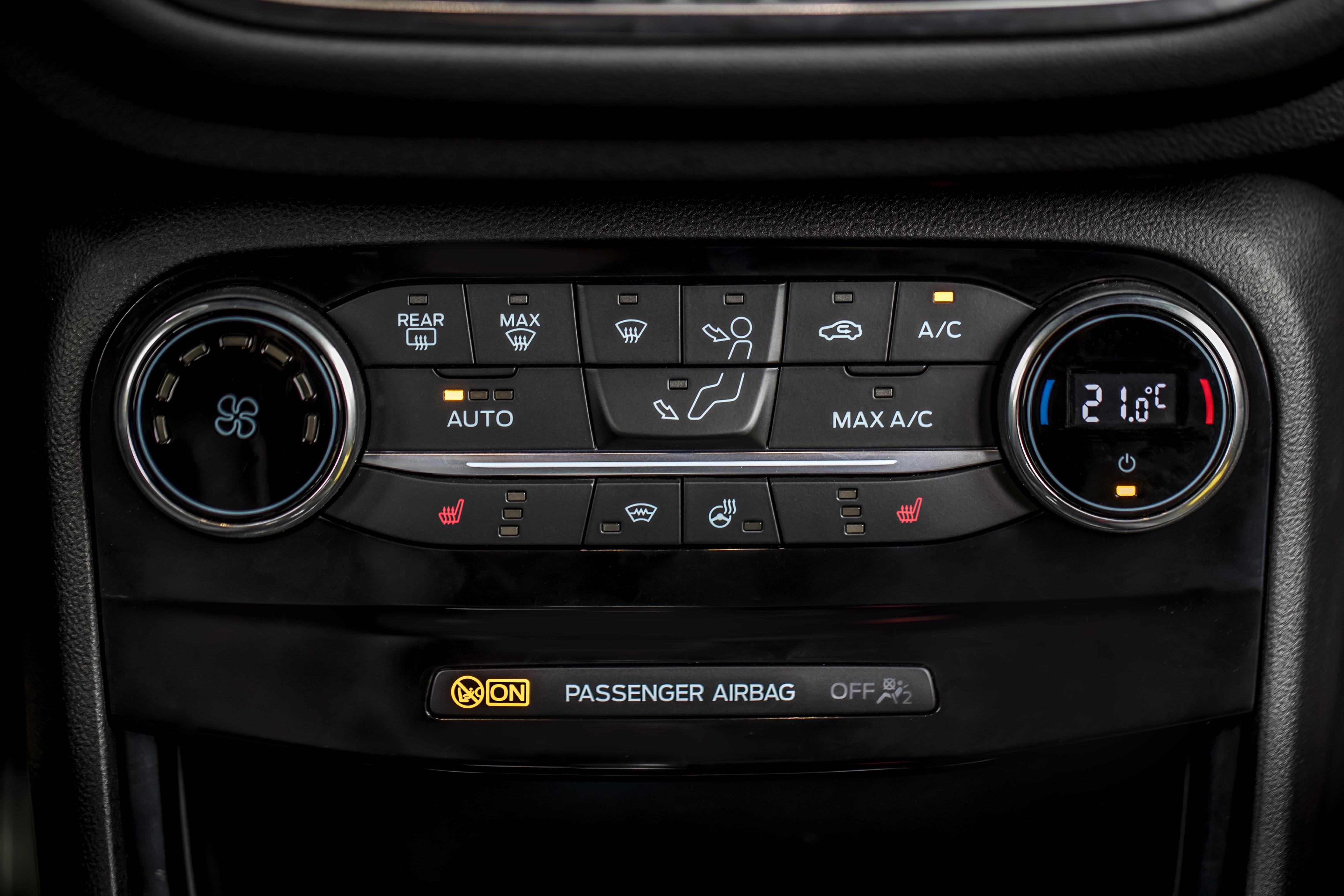 Ford Puma - Tecnologie - Climatizzatore