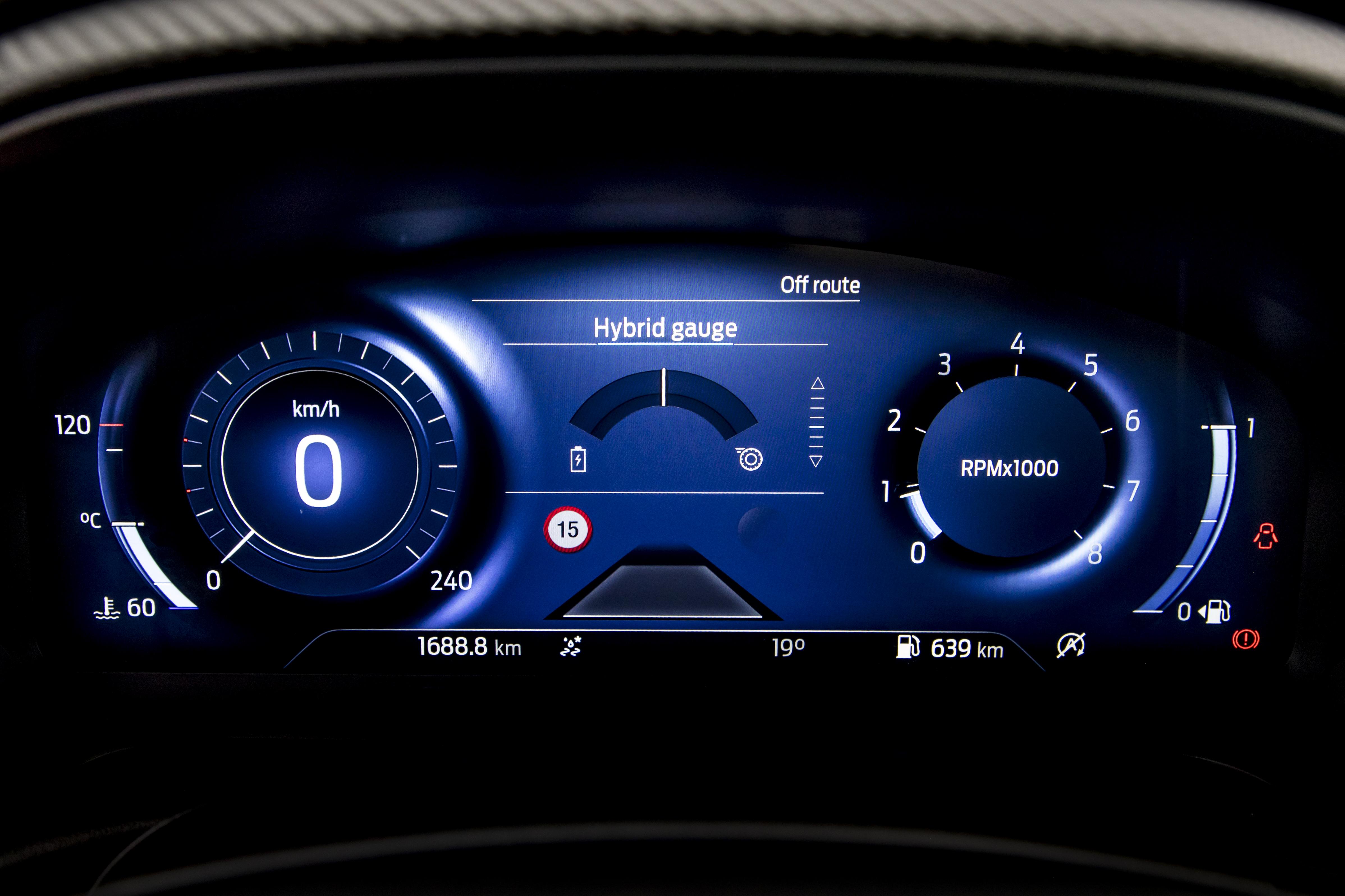 Ford Puma - Tecnologie - Quadro Digitale