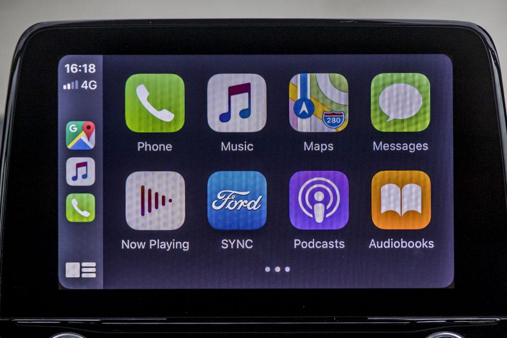 Ford Puma - Tecnologie - Apple Carplay