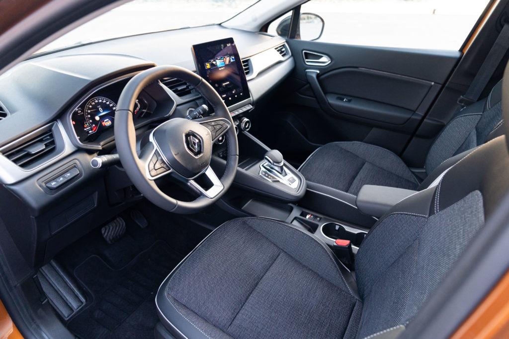 Renault Captur 1.5 Blue dCi EDC Intens - Interno