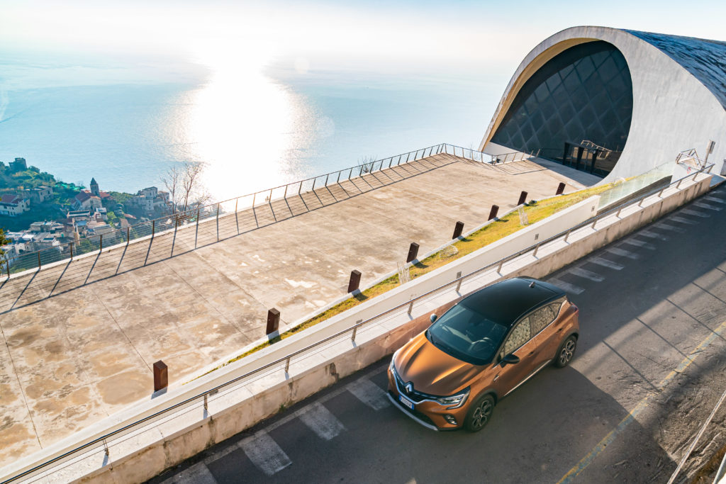 Renault Captur 1.5 Blue dCi EDC Intens - Dall'alto