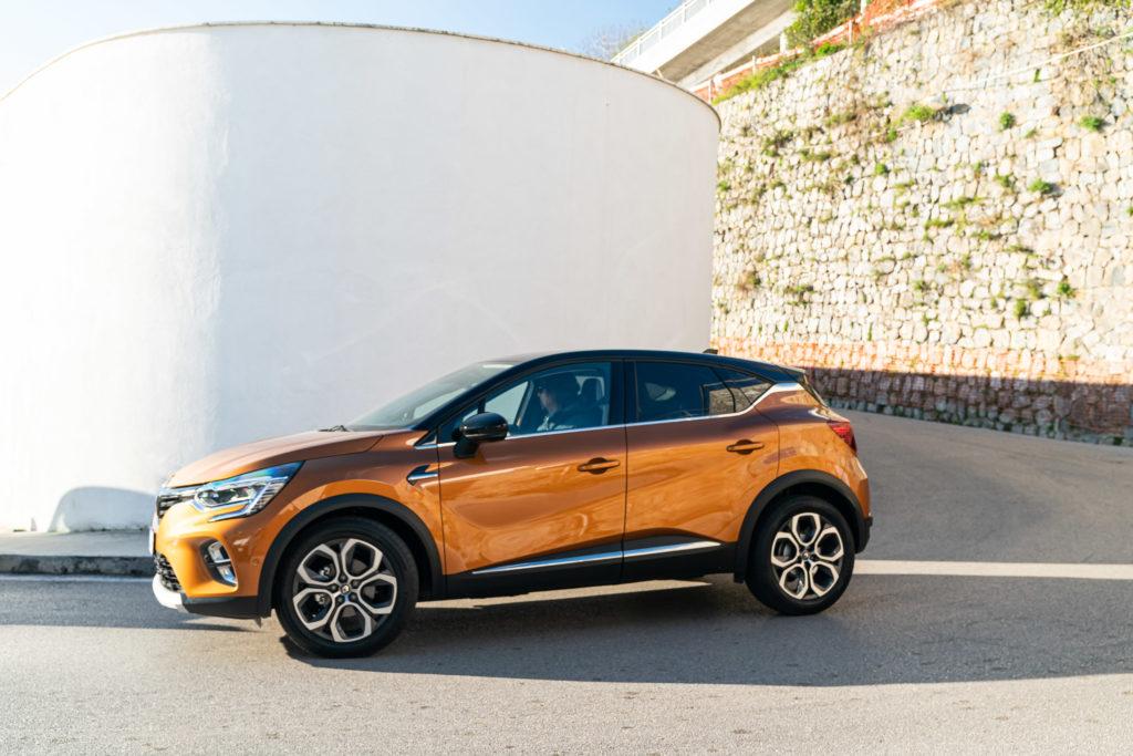 Renault Captur 1.5 Blue dCi EDC Intens - Laterale