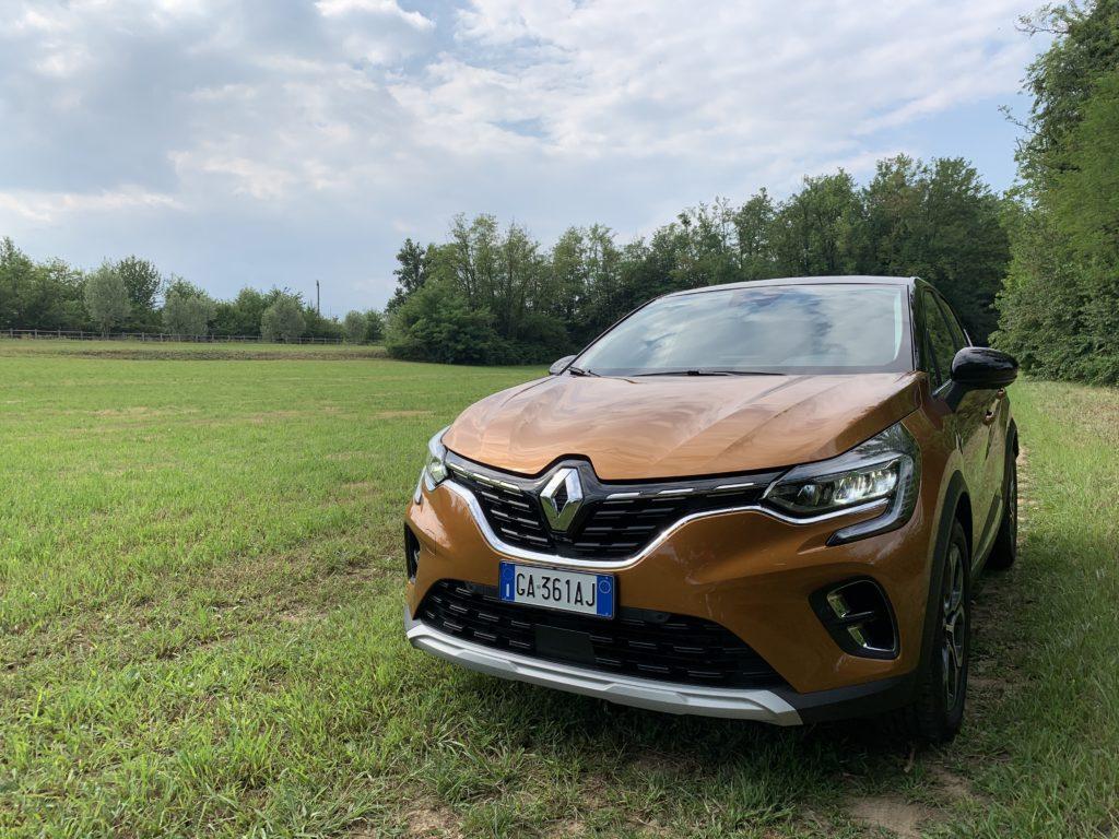 Renault Captur 1.5 Blue dCi EDC Intens - Frontale
