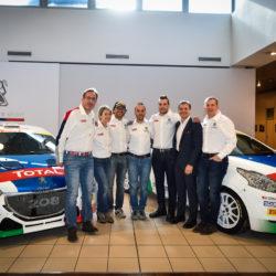 Peugeot Rally 2017 Pollara Princiotto Andreucci Andreussi