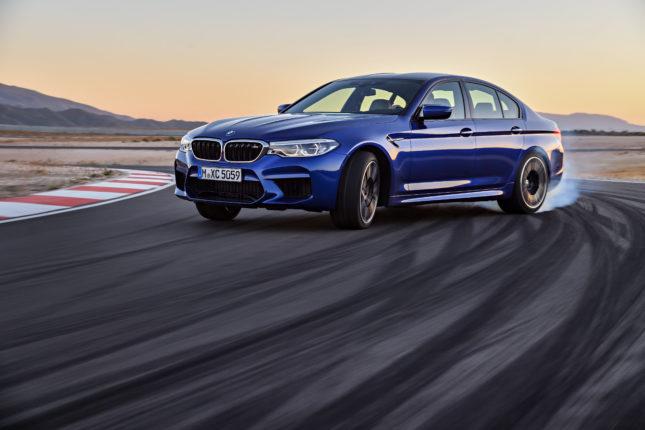 BMW M5 2018 xDrive