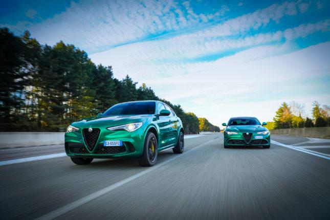 Alfa Romeo Giulia e Stelvio Quadrifoglio